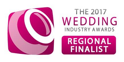 Wedding industry awards regional finalist