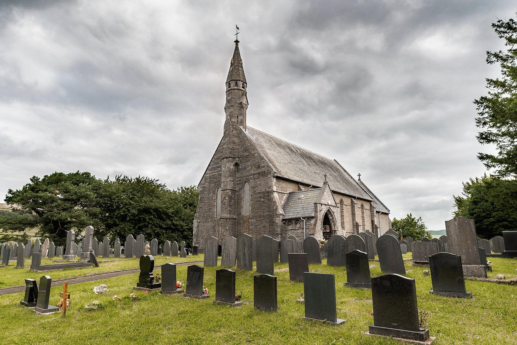 Clarach church