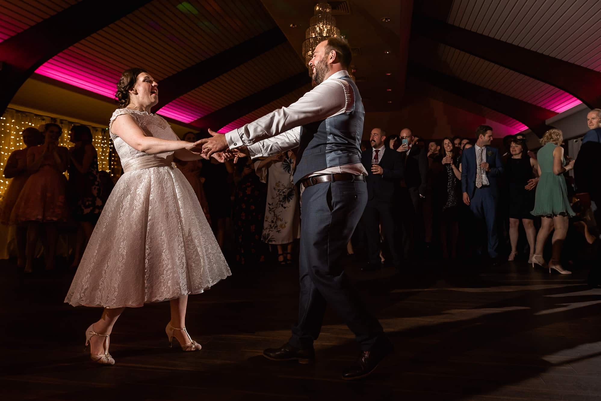 First dance at Colshaw Hall