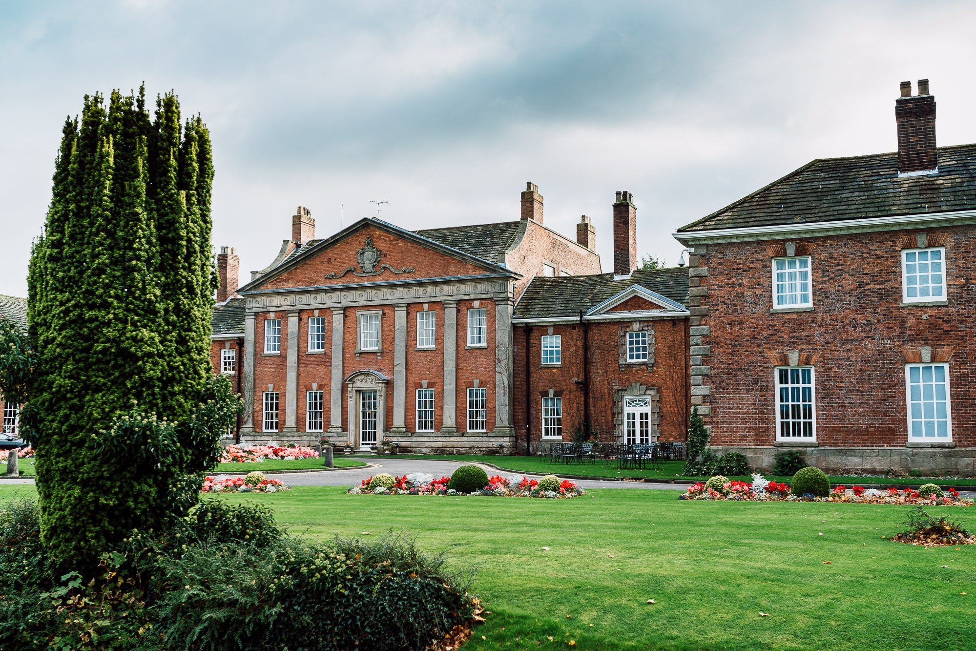 A photo of Mottram Hall in Cheshire