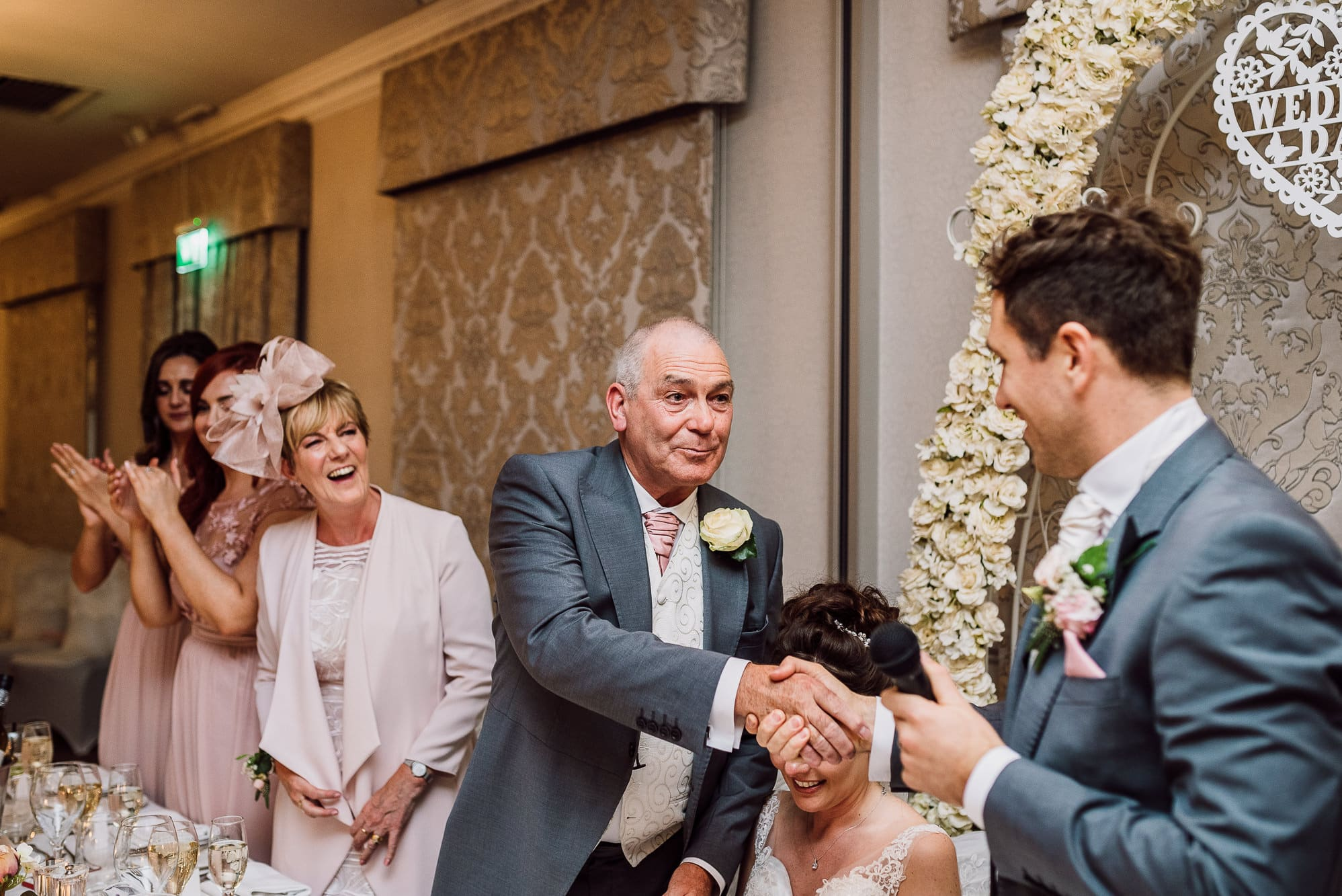 Father of the bride speech at Mottram Hall
