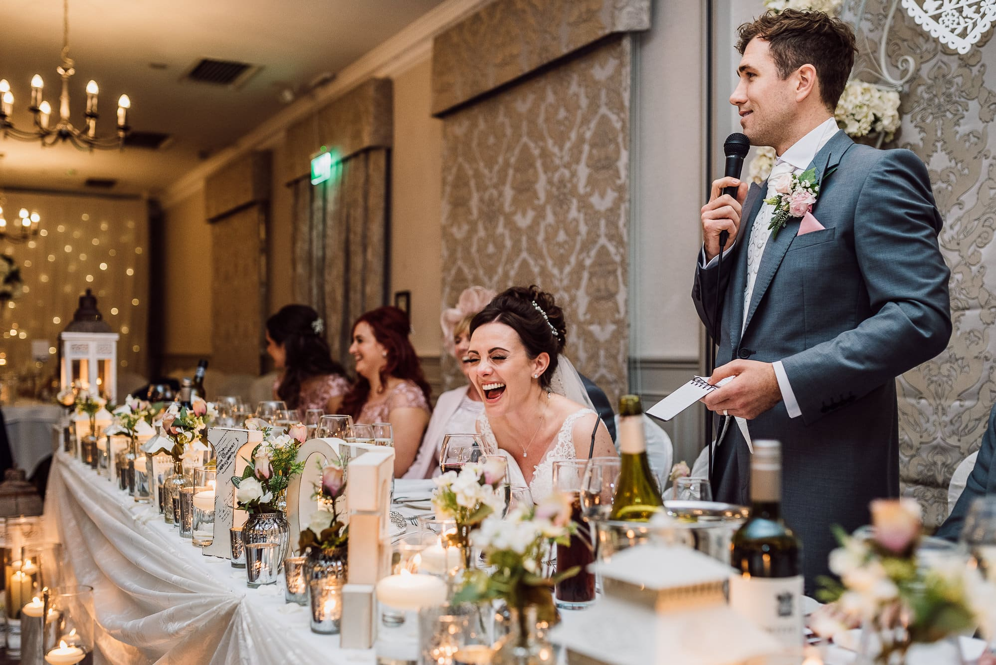 Speeches at Mottram Hall