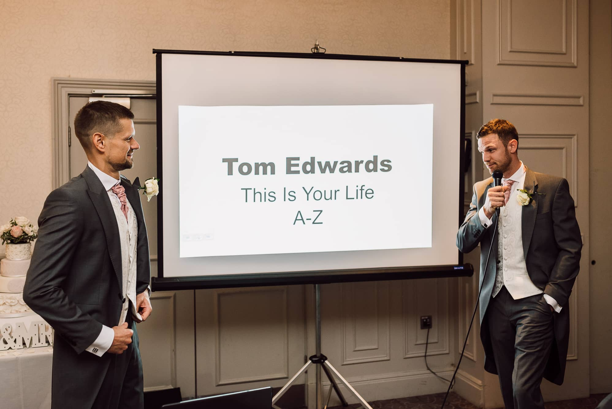 This is your life speech at Mottram Hall