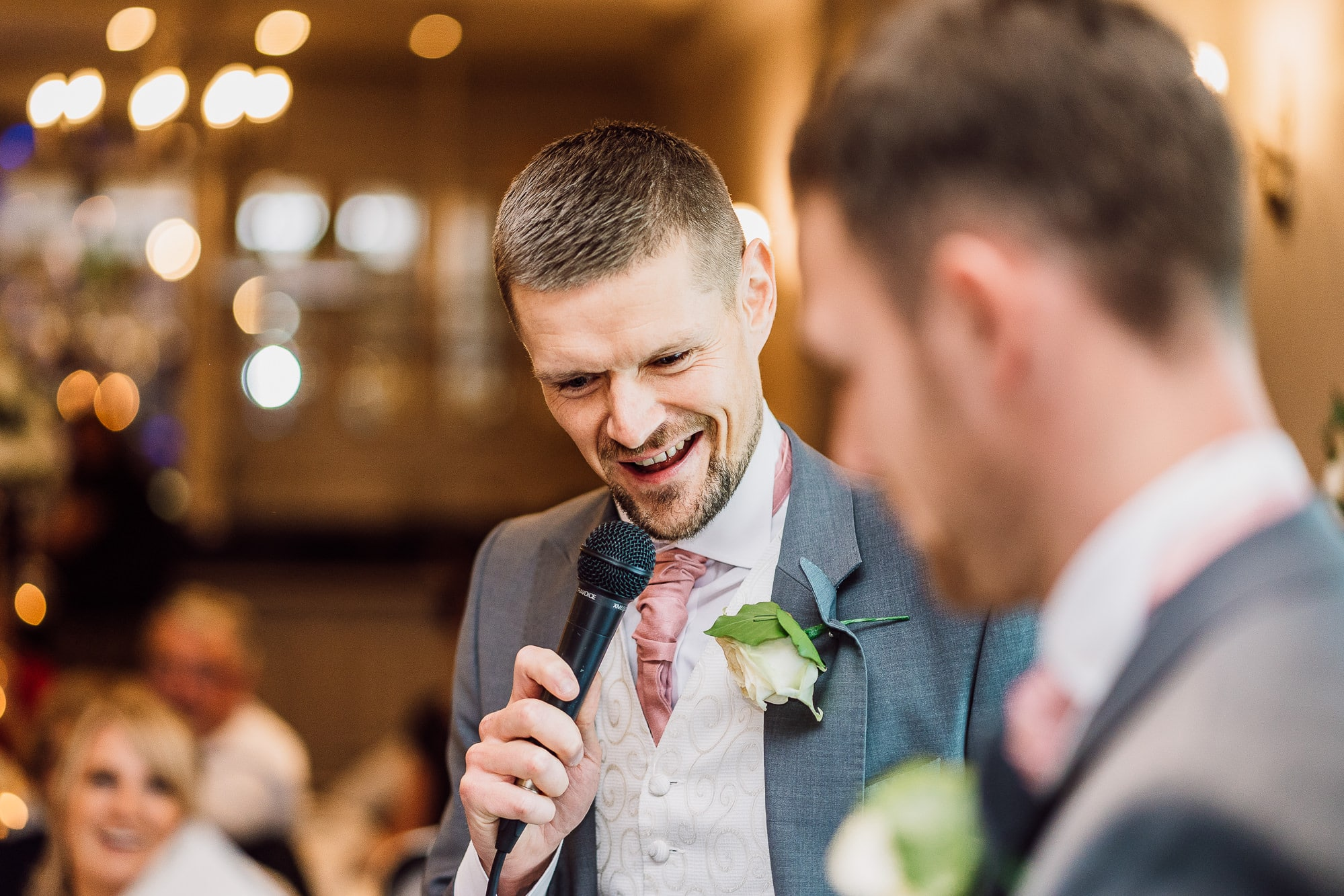 best man speech at Mottram Hall