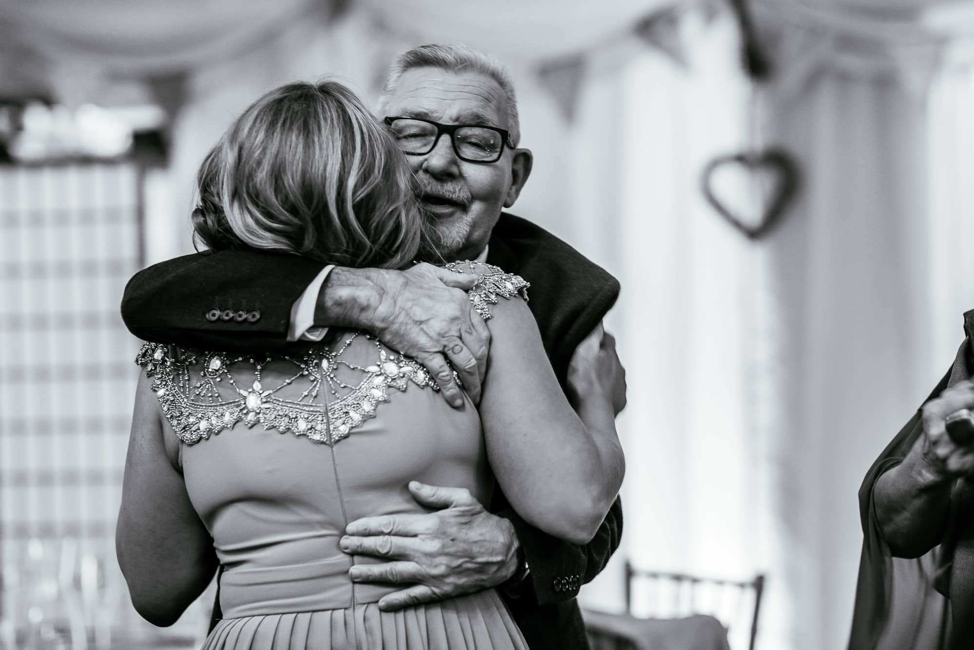 two guests hugging at Hilltop Country house