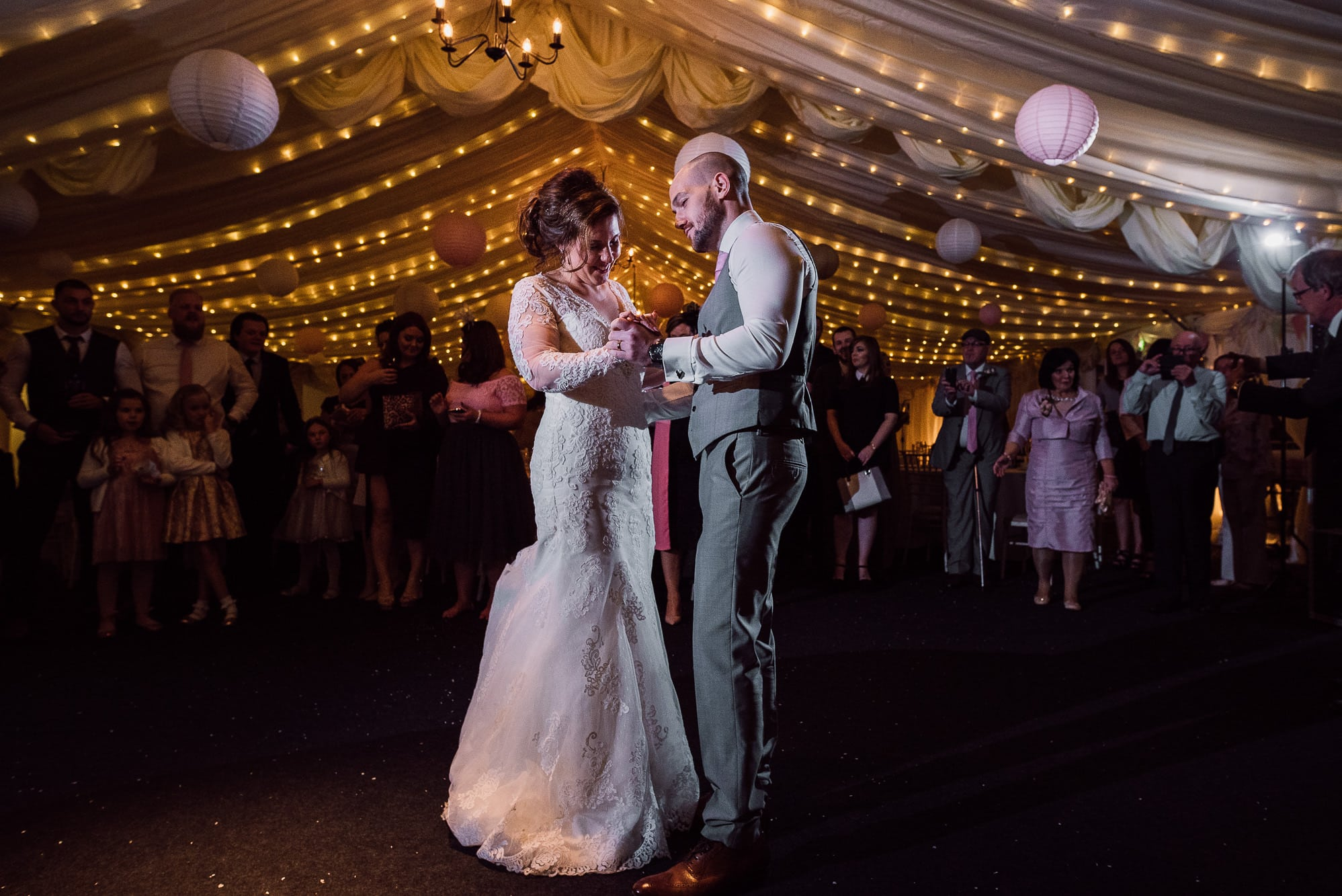 First dance at HIlltop Country House