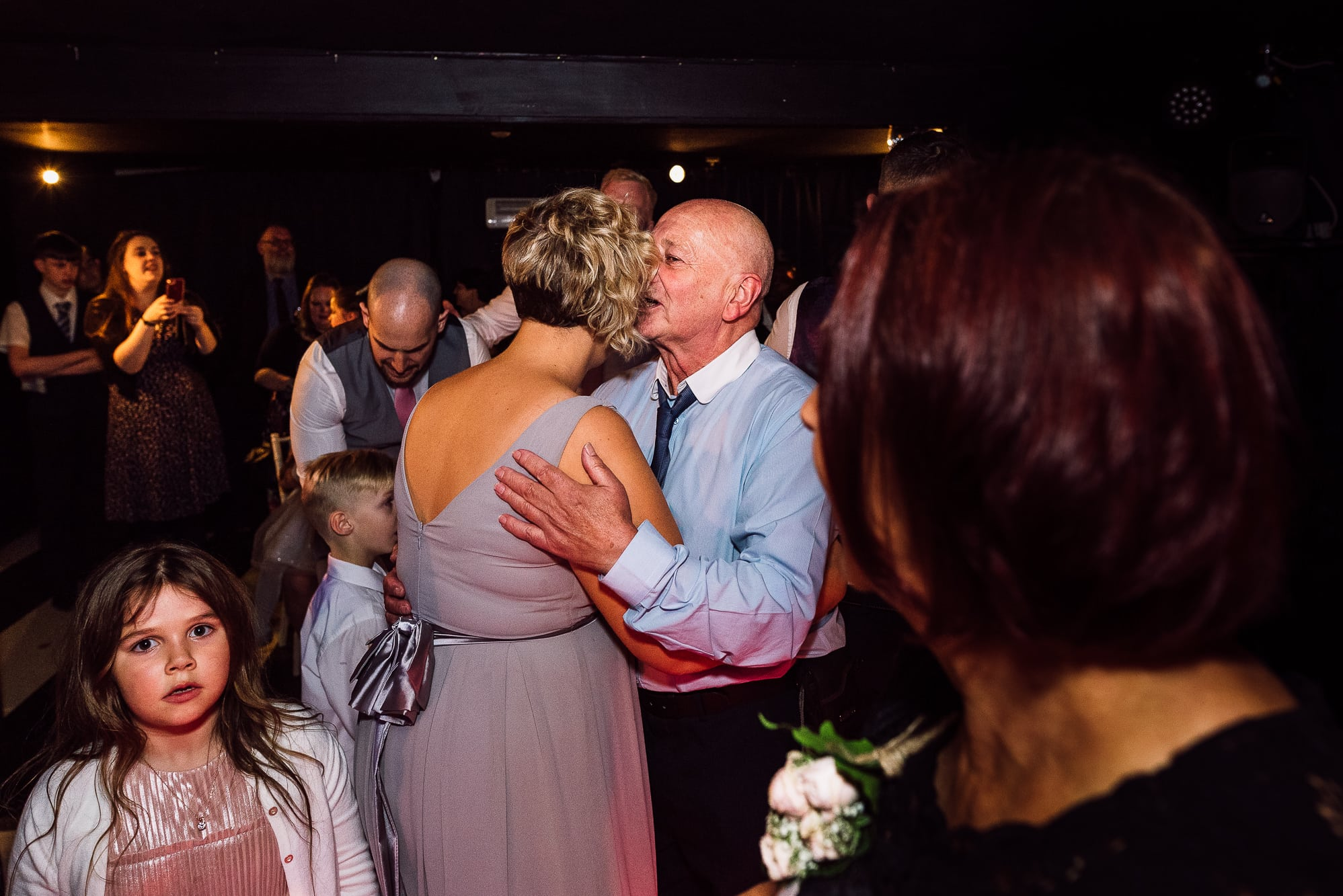 Guests dancing at Hilltop Country House