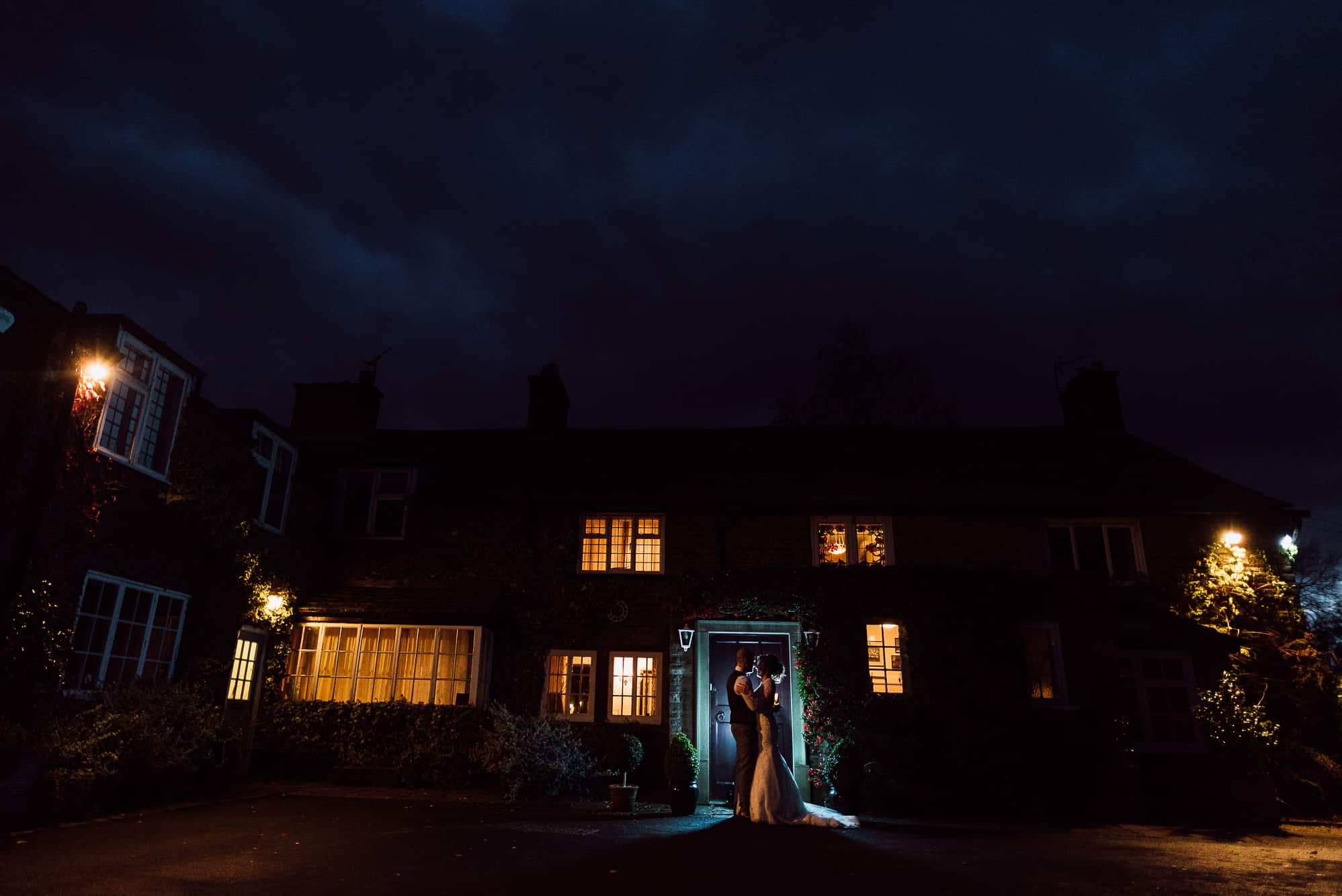 Off camera flash at Hilltop Country House