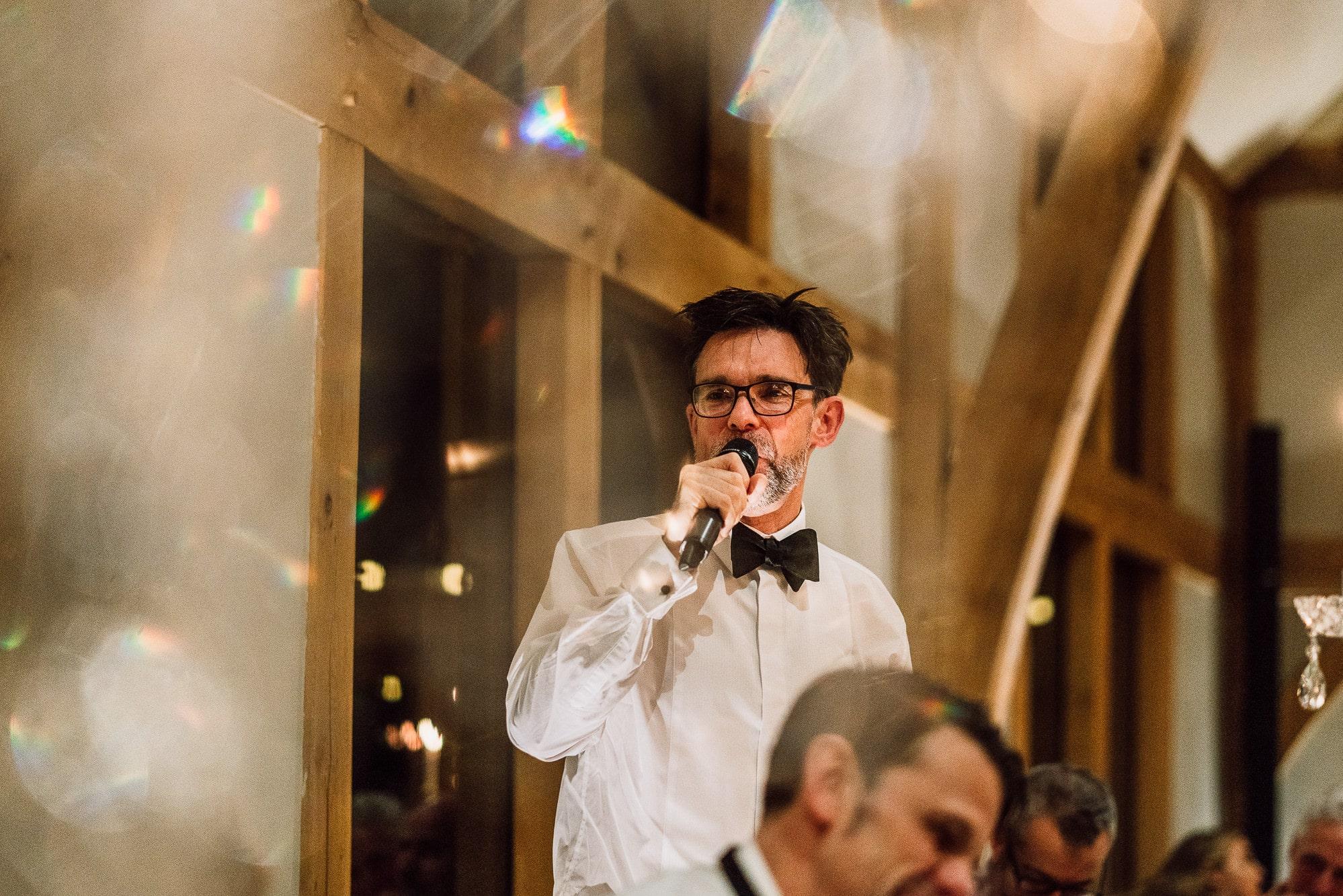 best man speech at Tower Hill Barns