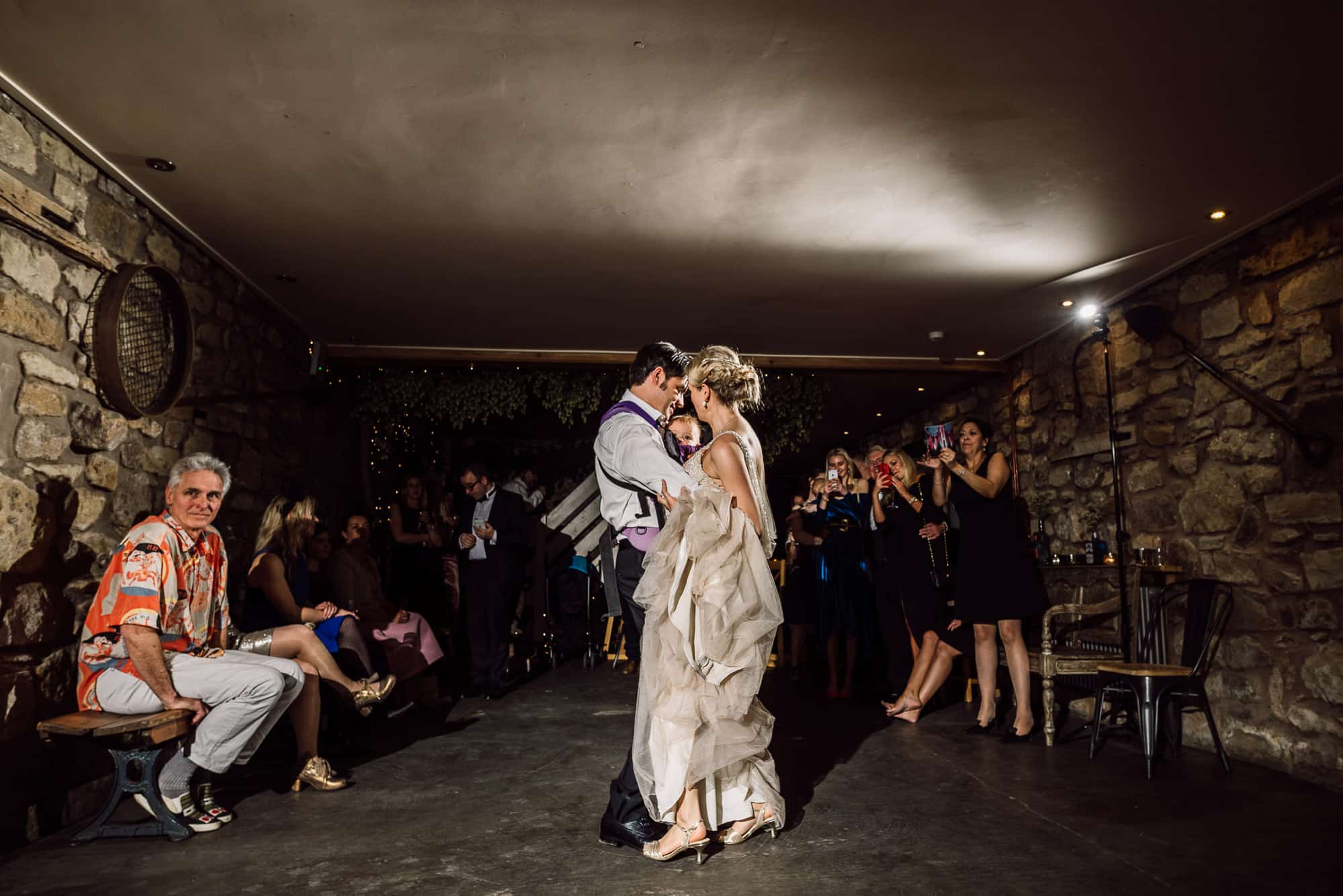 First dance at Tower Hill Barns