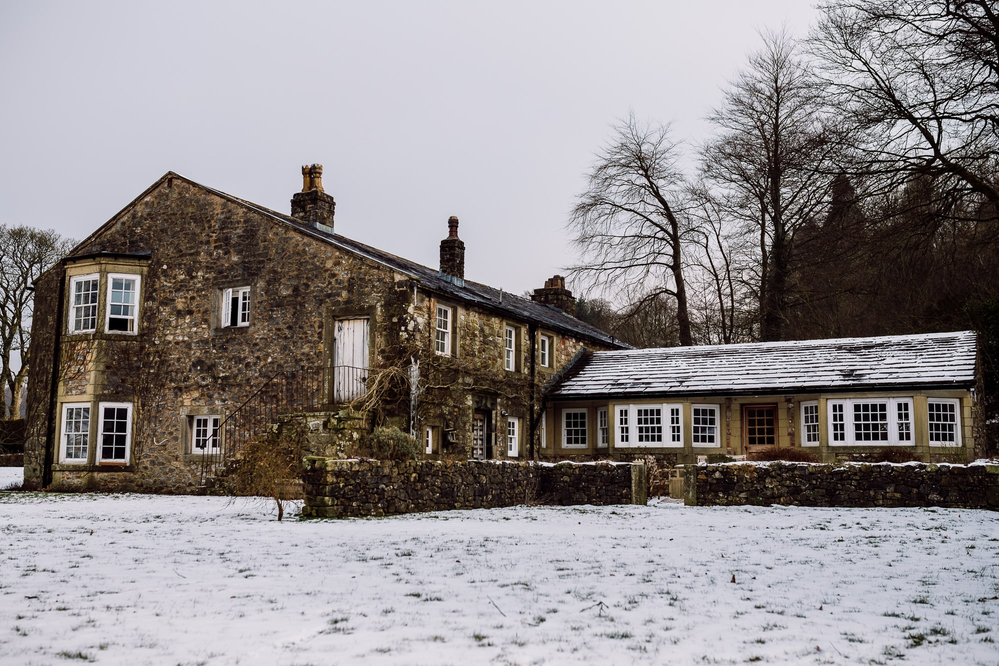 A picture of the piggeries at the Inn at Whitewell, Lancashire