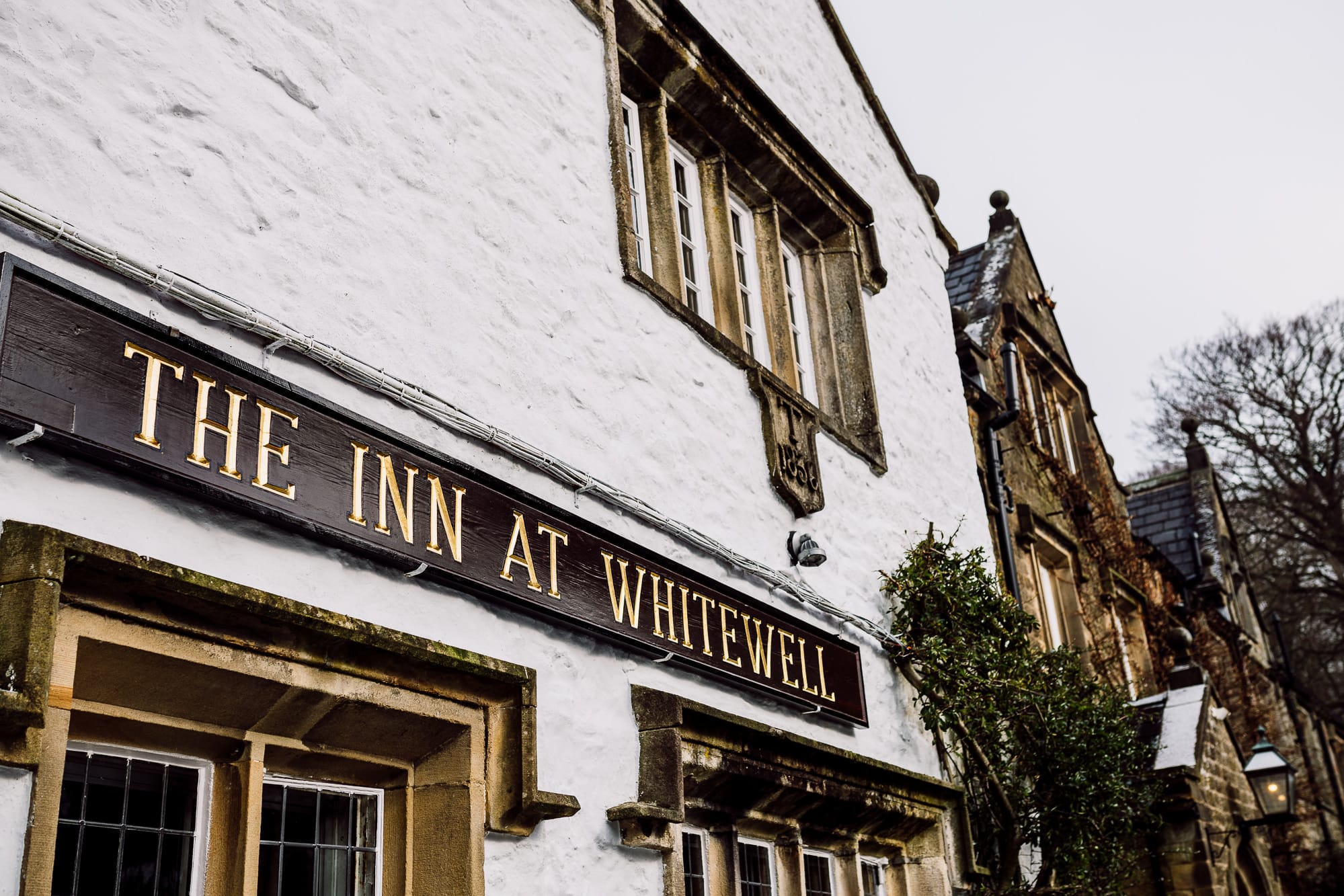 A picture of the Inn at Whitewell