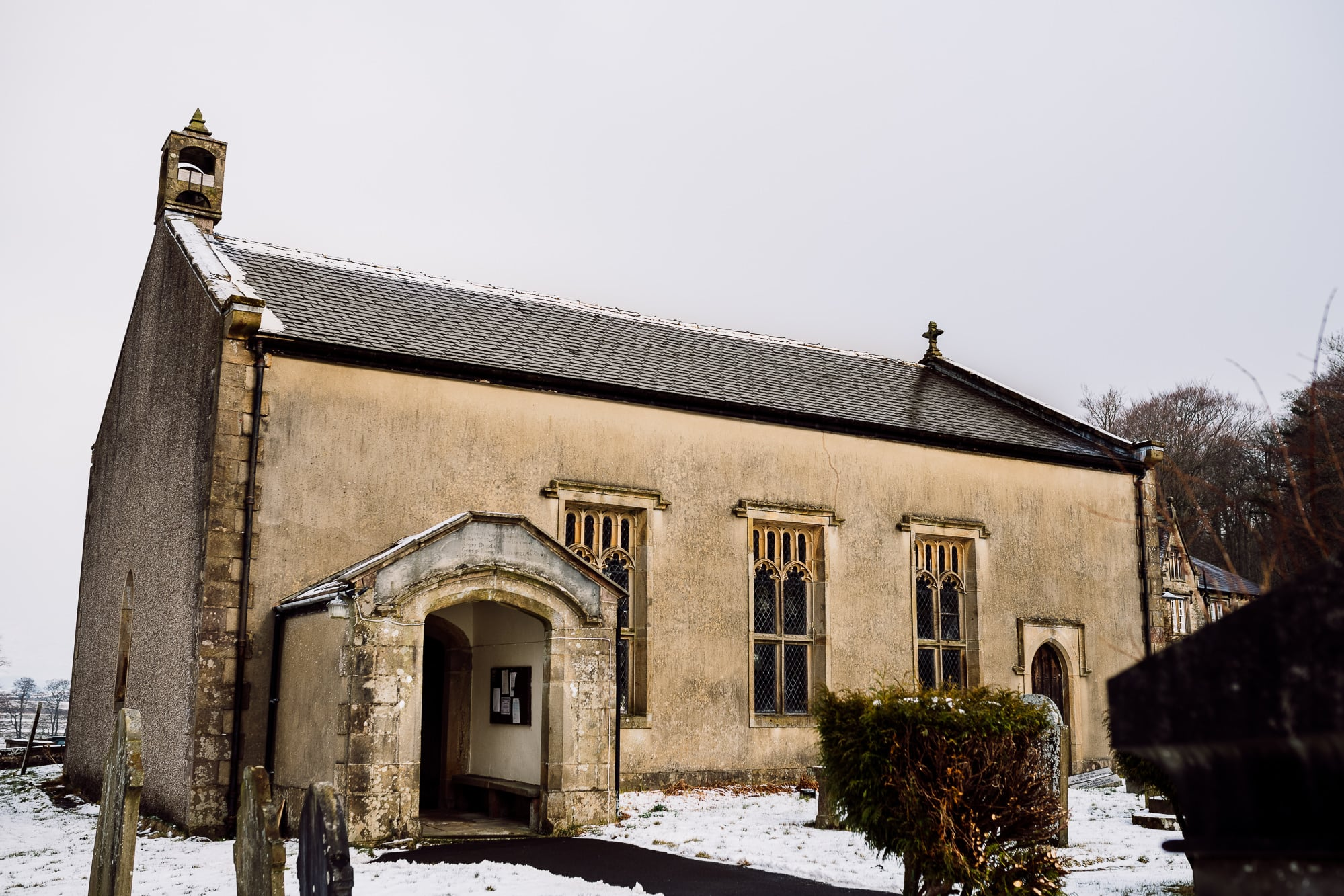 A photo of the church at the Inn at Whitewell
