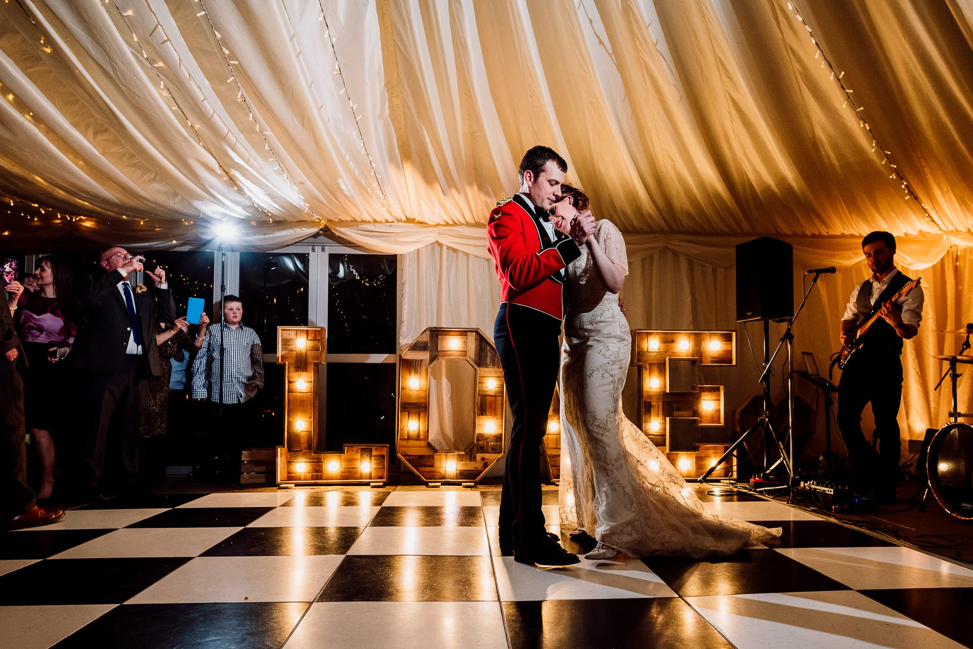 First dance at the Inn at Whitewel