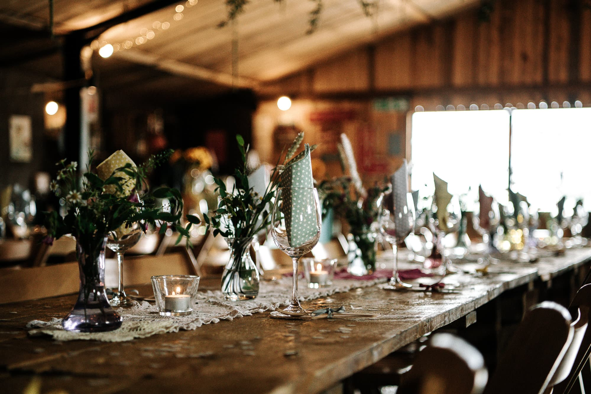 Stanford farm wedding barn