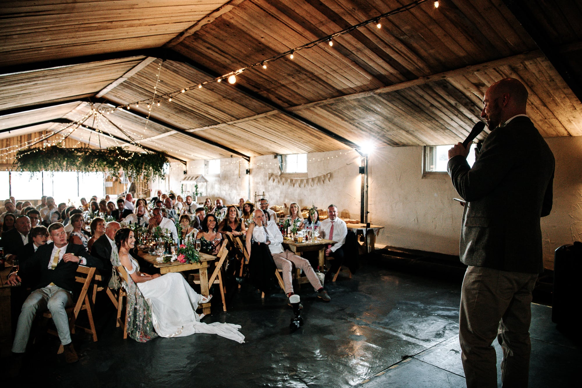 groom speech at Stanford farm
