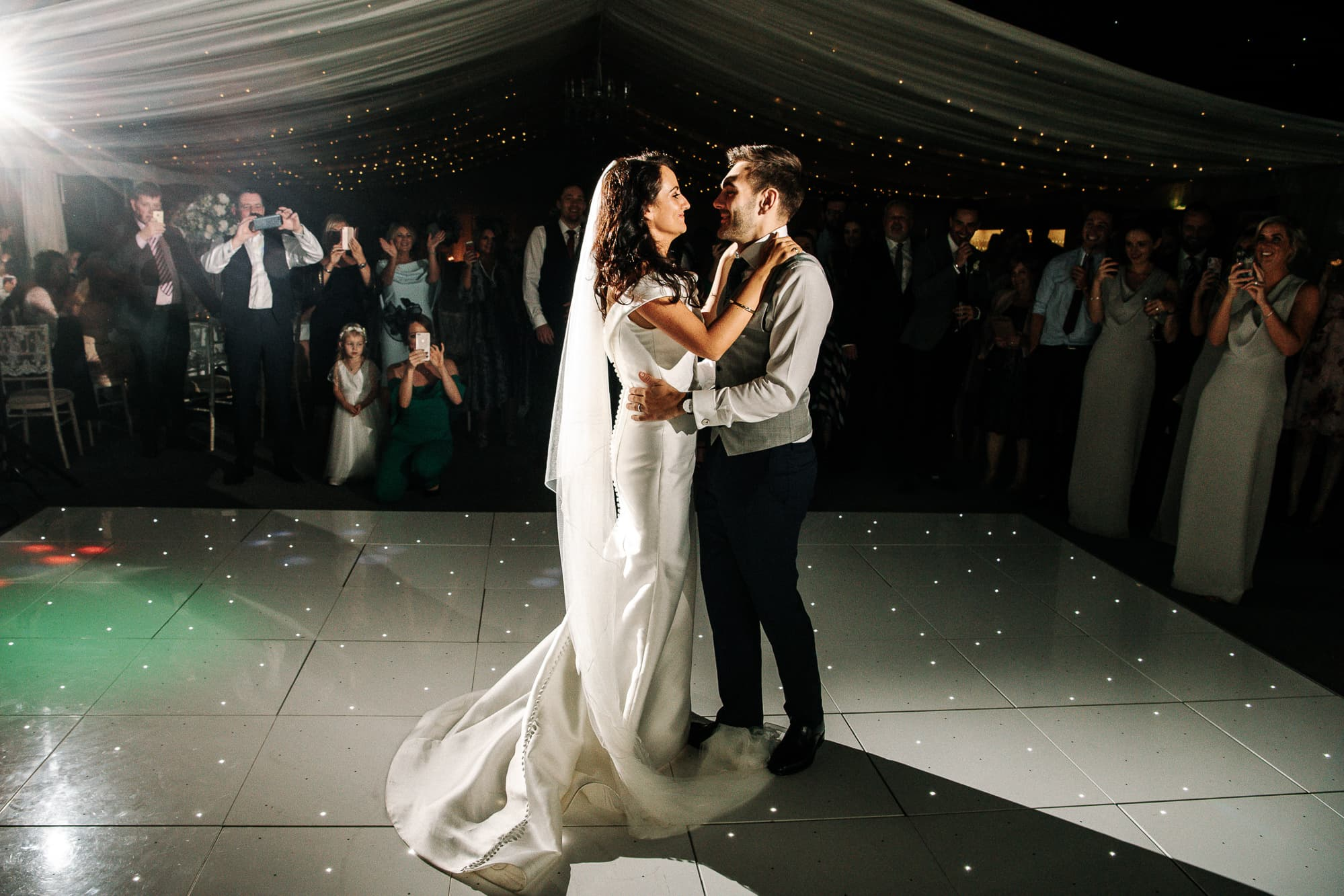 First dance at Soughton Hall