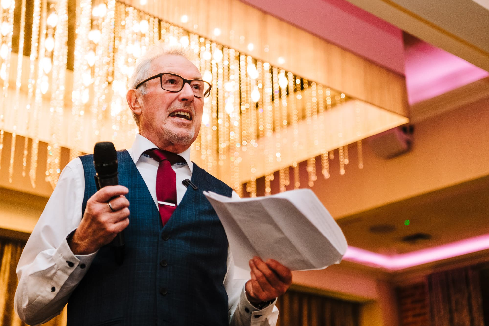 Father of the bride speech at Merrydale Manor