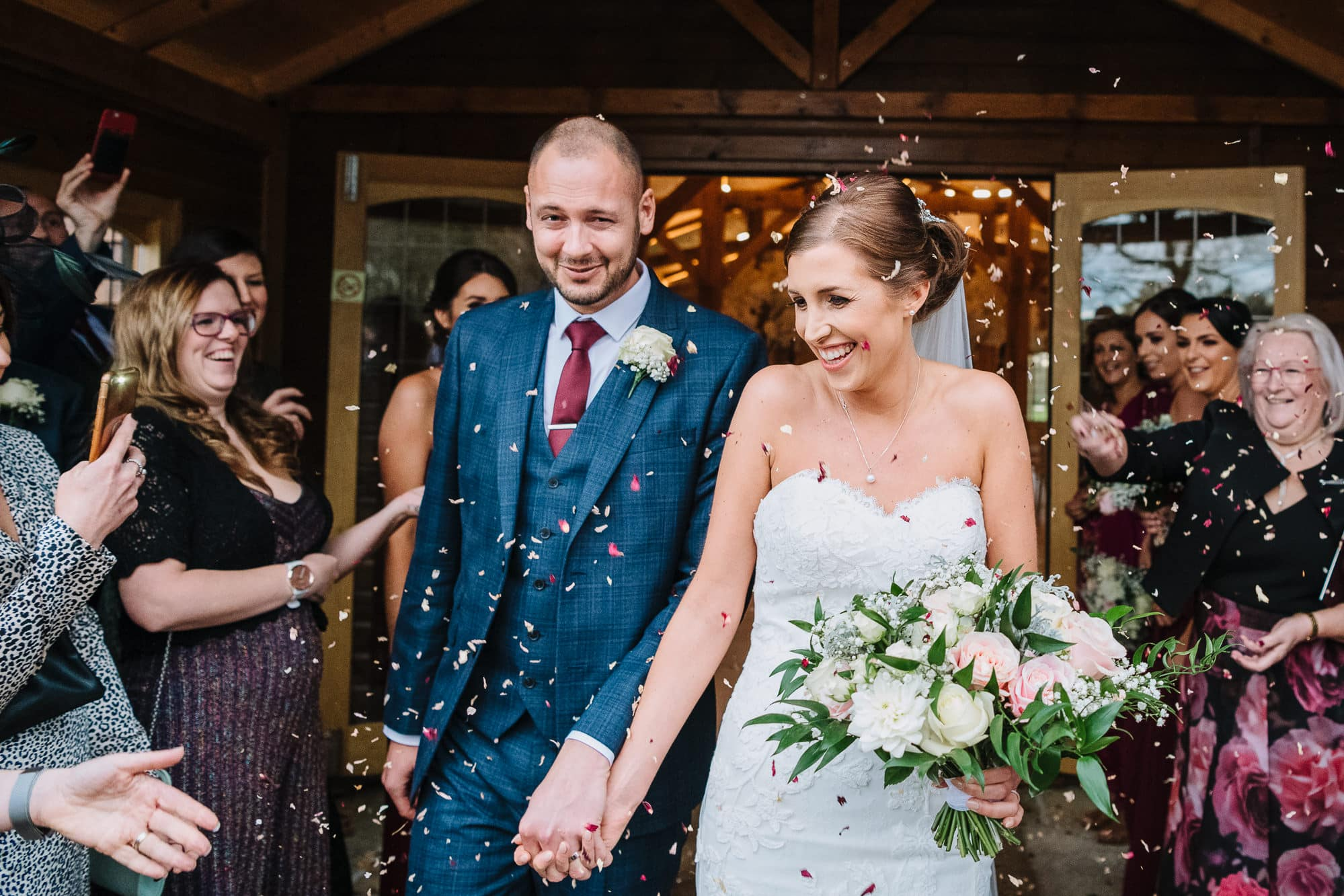 Confetti shot at Merrydale Manor