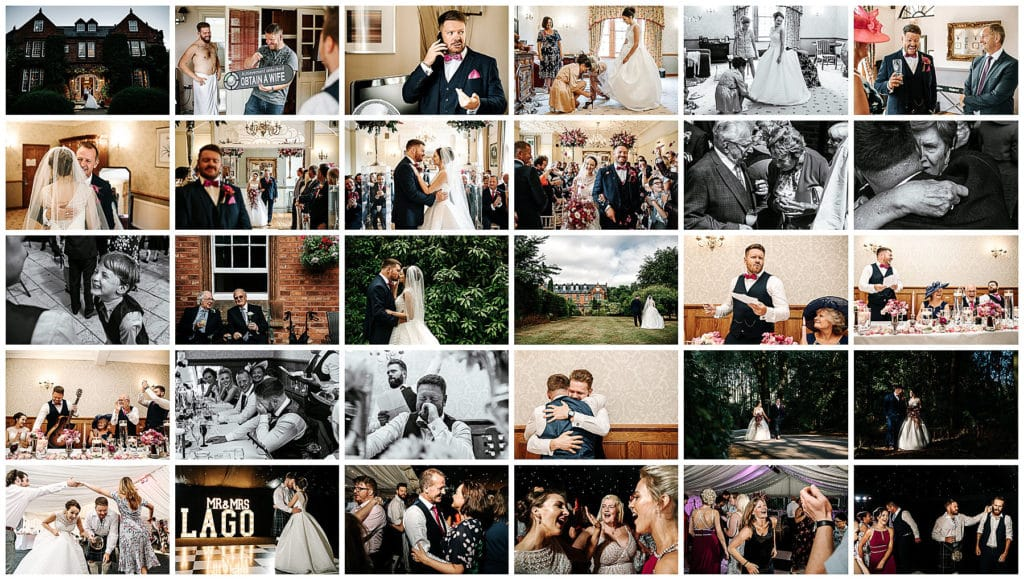 Grid of photos from Nunsmere