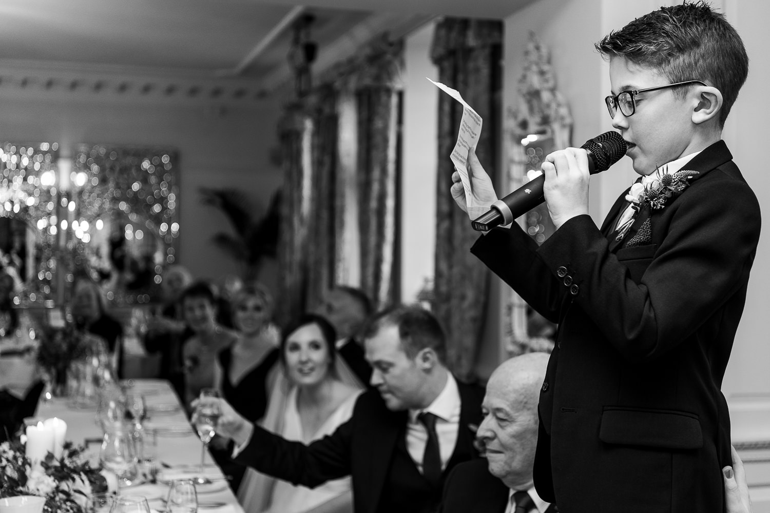 Best man speech at Eaves Hall