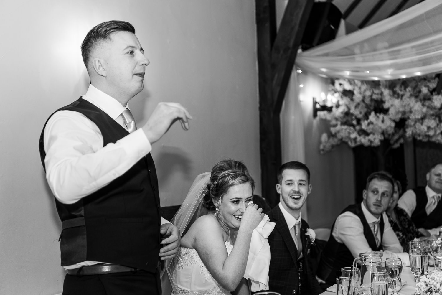 Speech by the brother of the bride