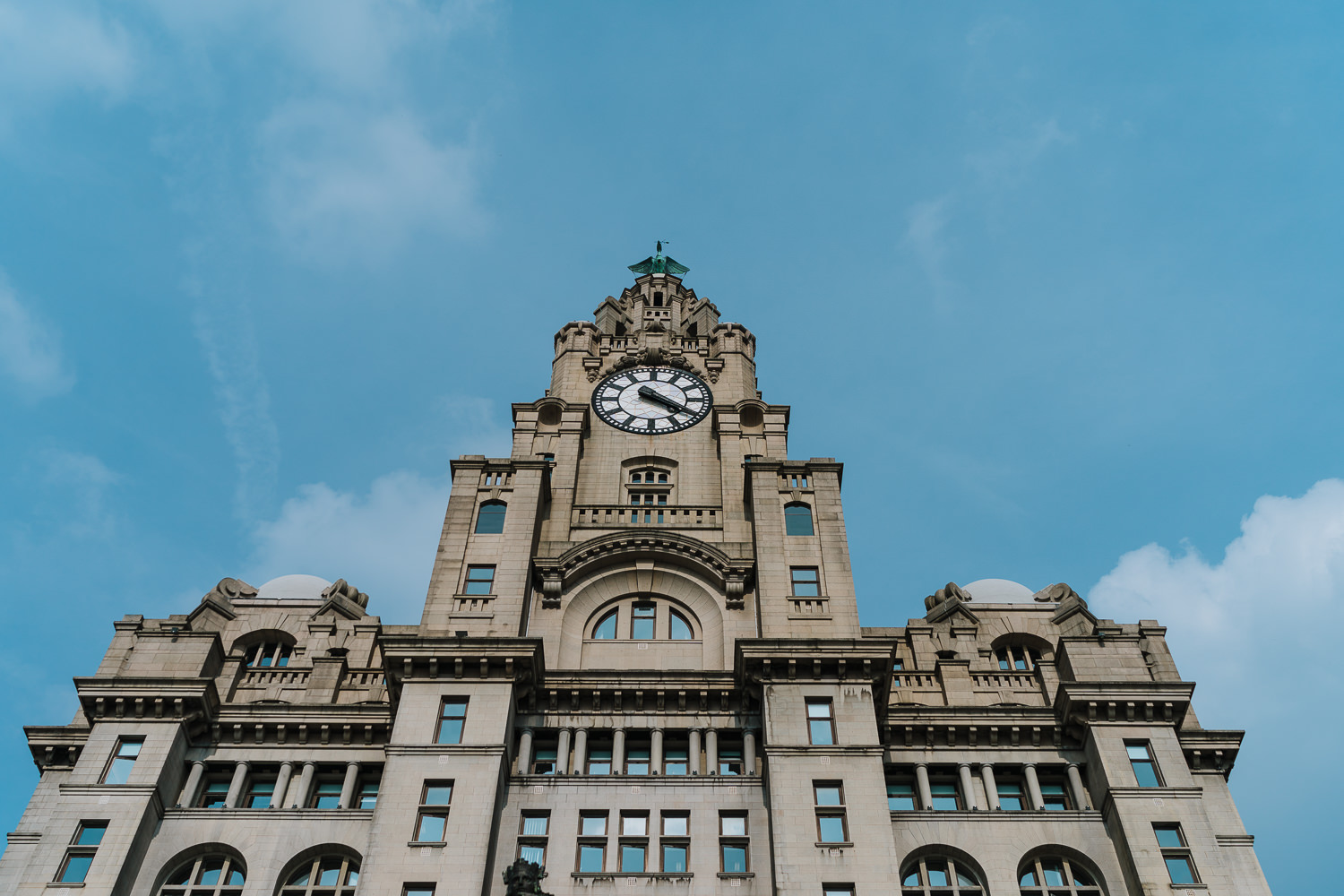 Photo of the Liver Building