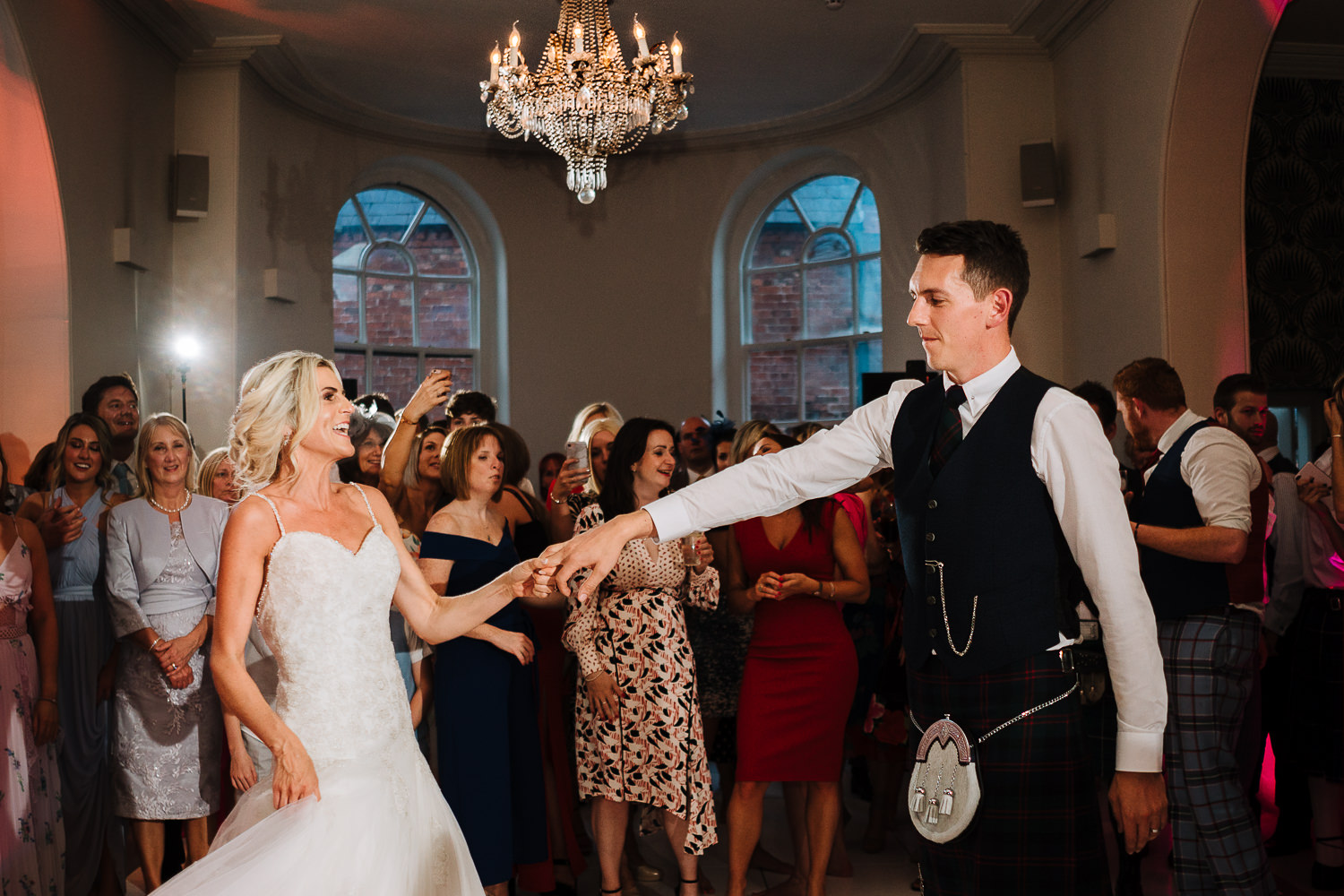 First dance at Iscoyd Park