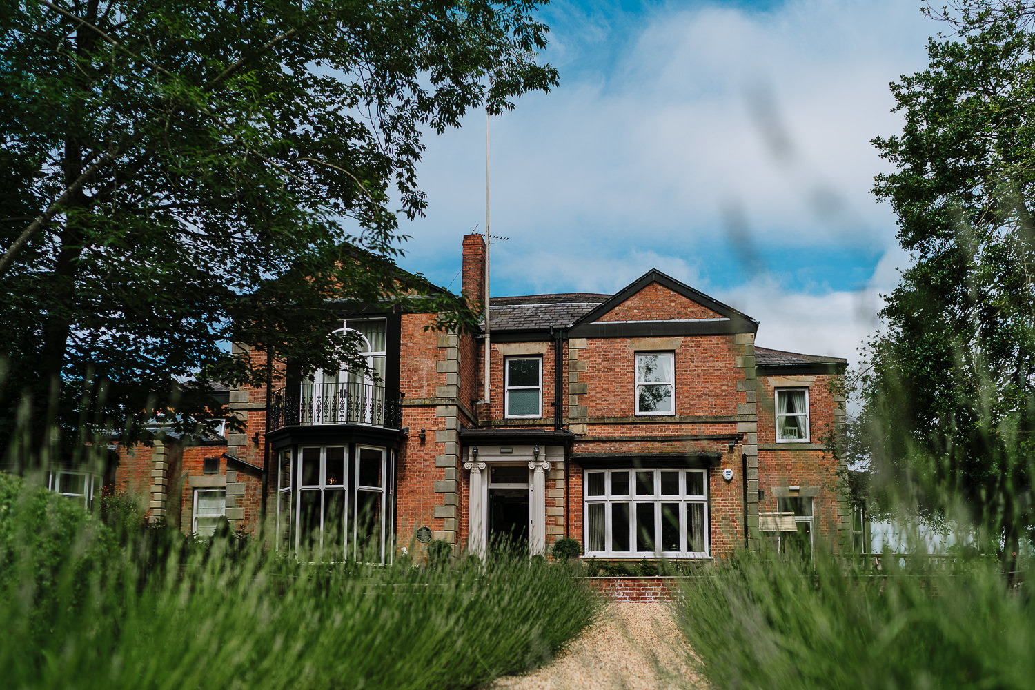A photograph of Ashfield House Wedding venue