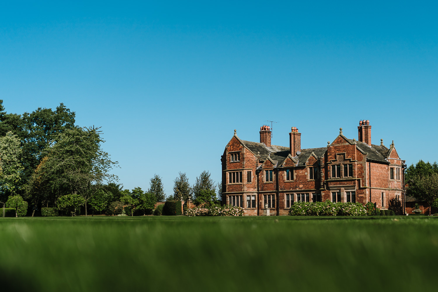 A photo of Colshaw Hall from the grounds