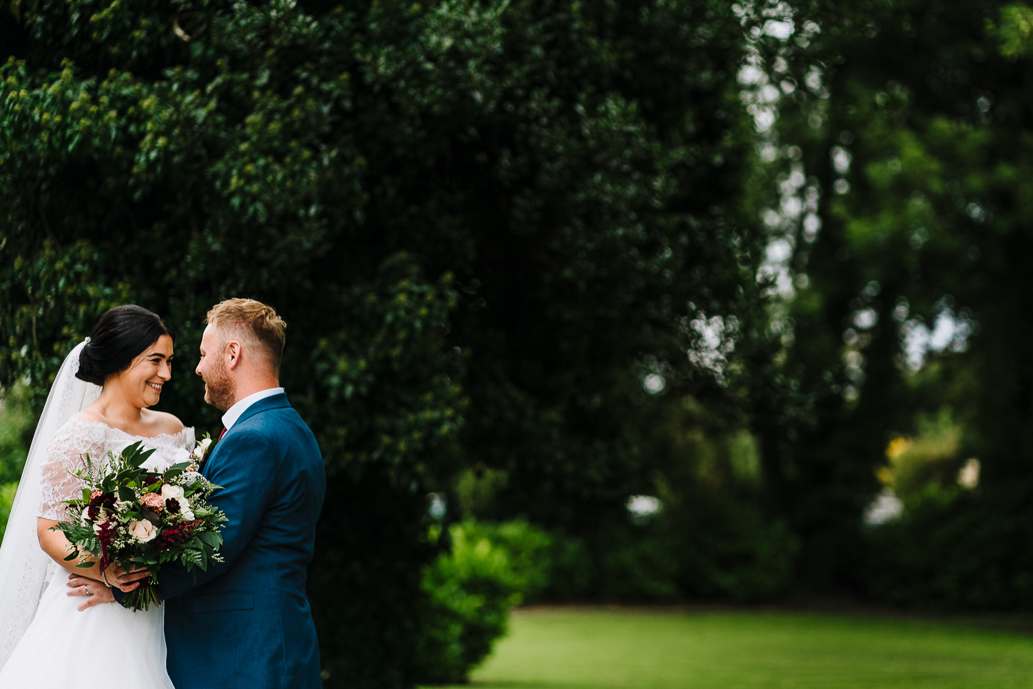 couple at mutton hall