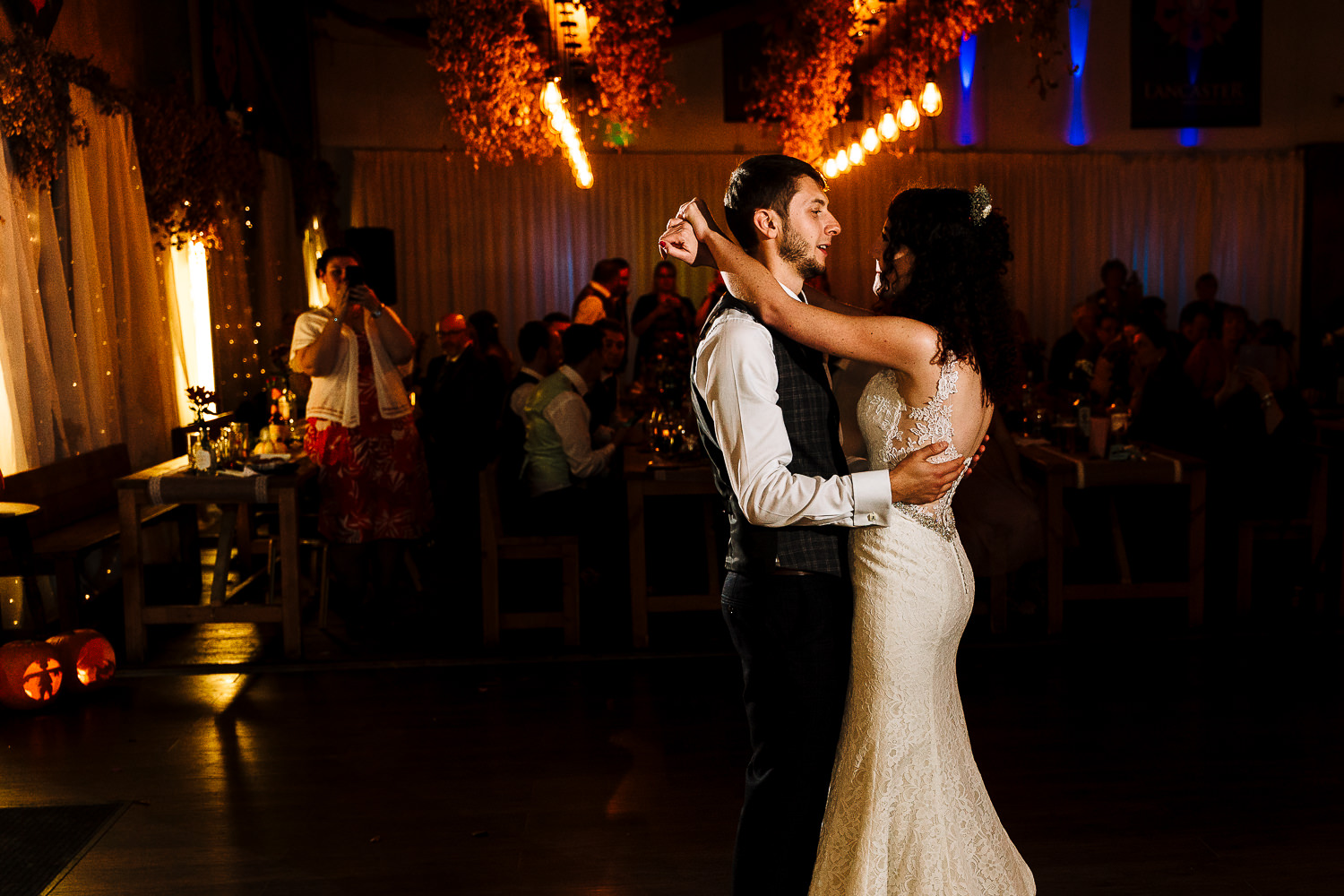 First dance at Lancaster Brewery