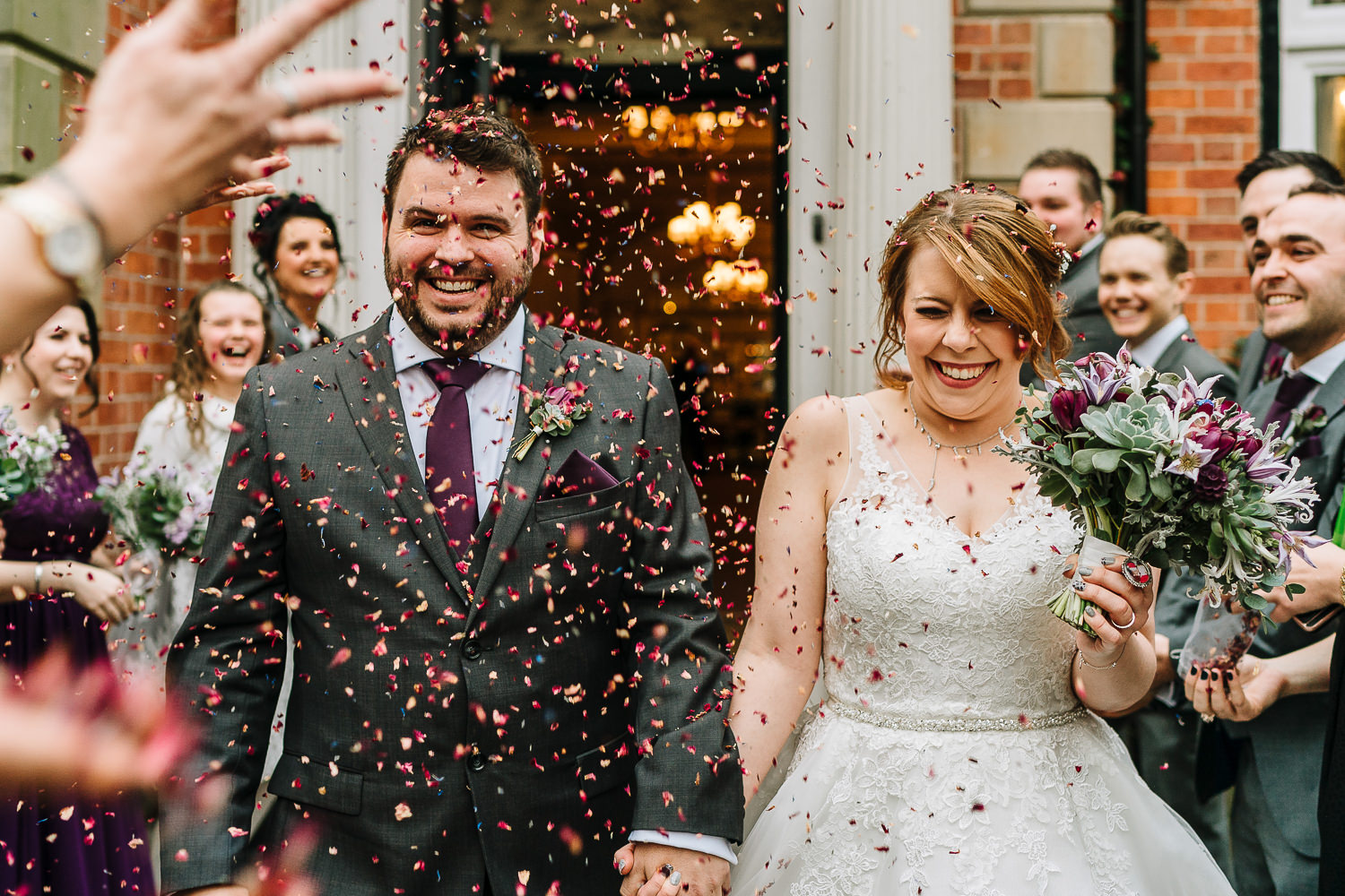 Confetti at Ashfield House
