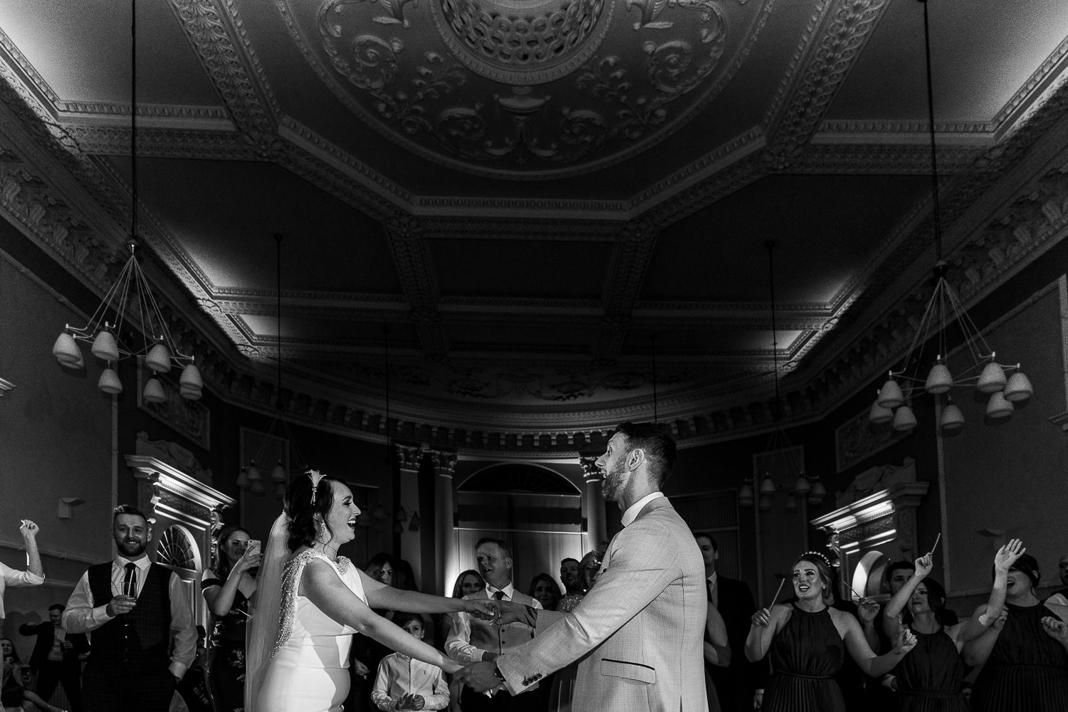 First dance at the Courthouse