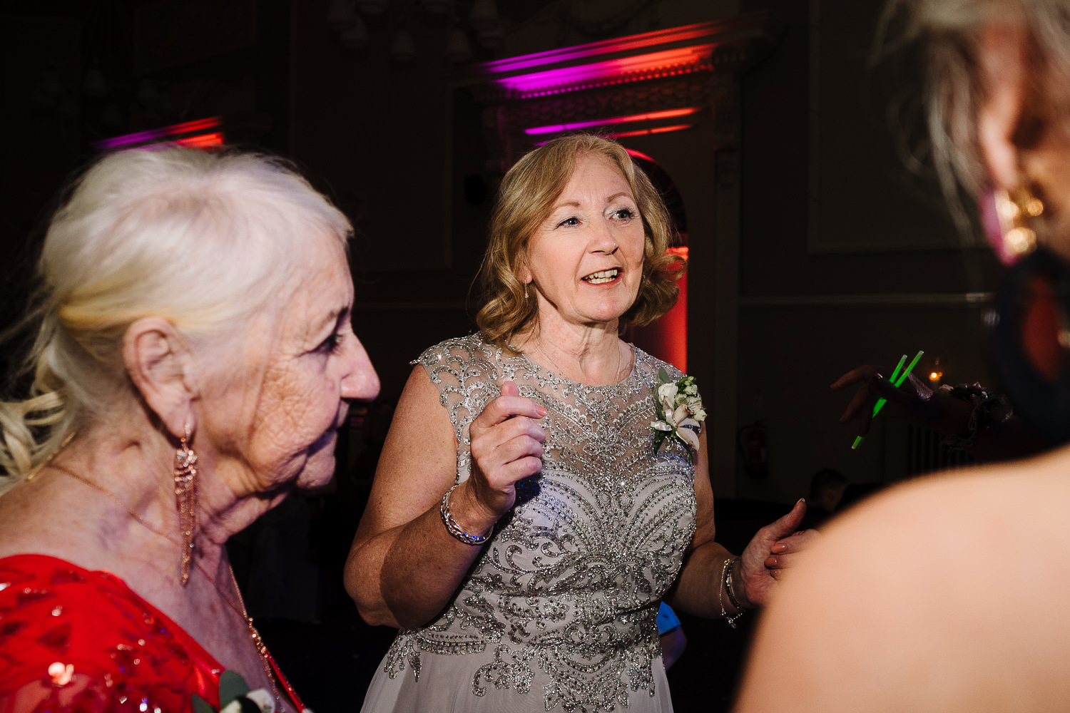 mother of the bride dancing with gran