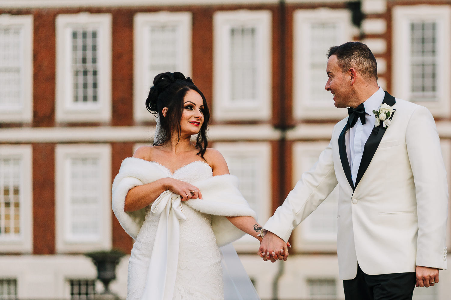 Couples portraits at Knowsley Hall