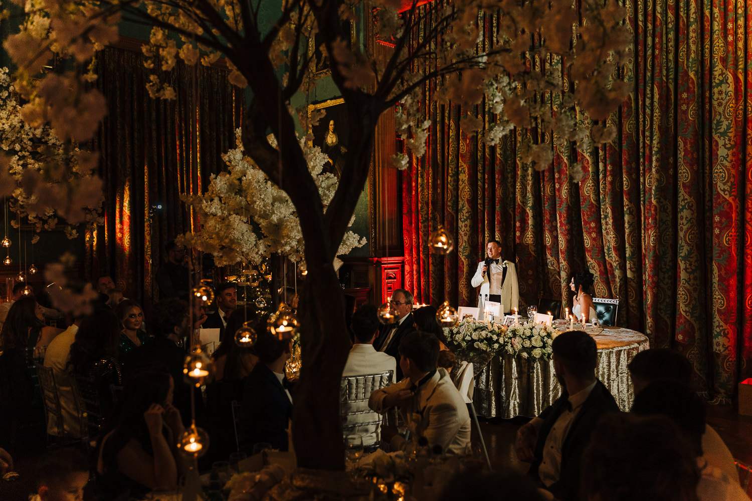 Grooms speech at Knowsley Hall