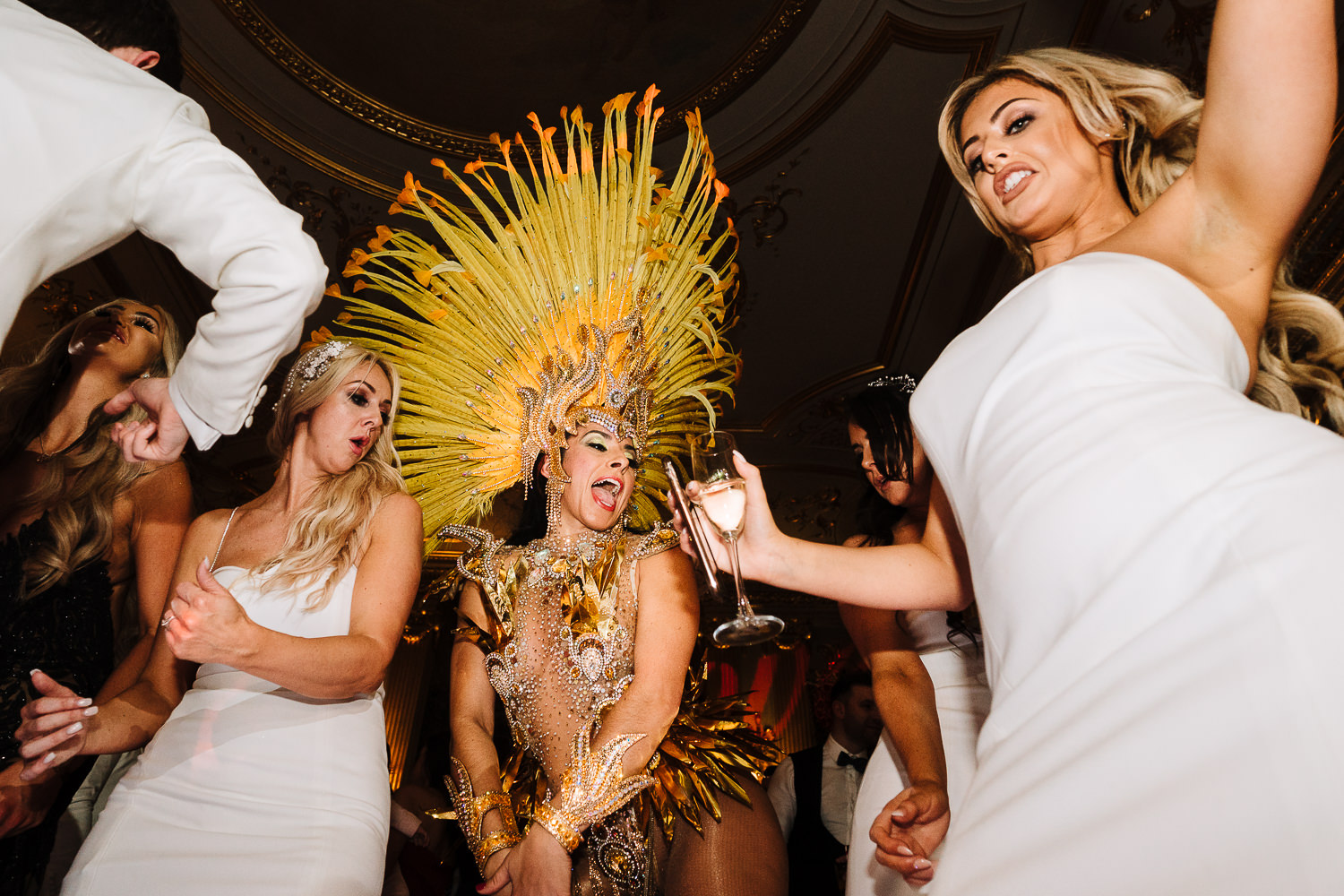 Brazilian dancers at Knowsley Hall