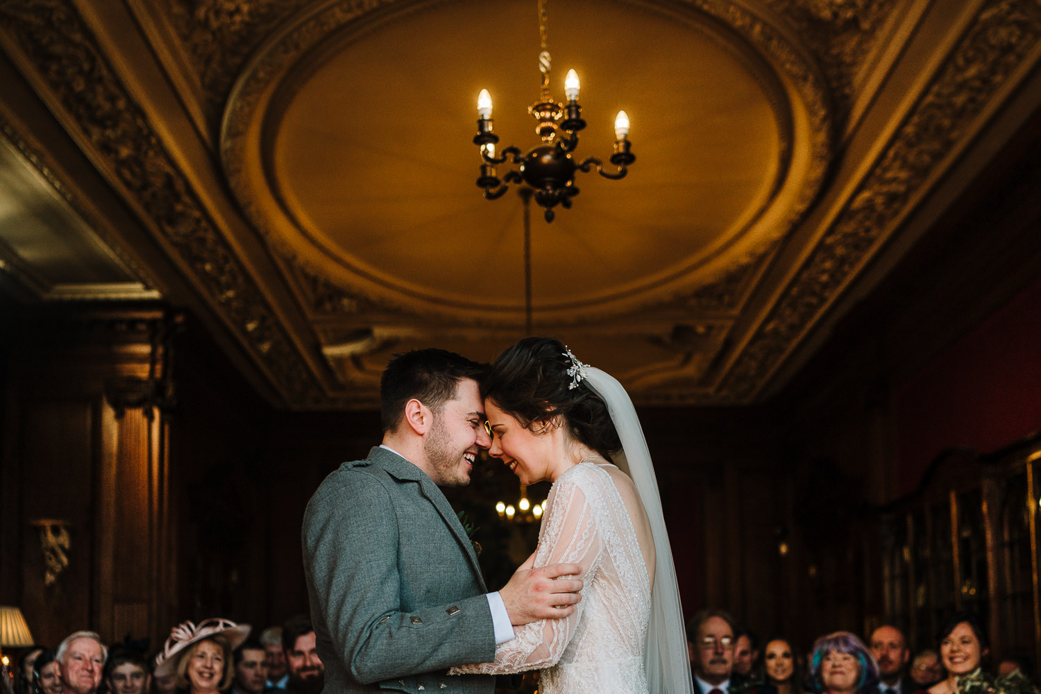 First kiss at Thornton Manor