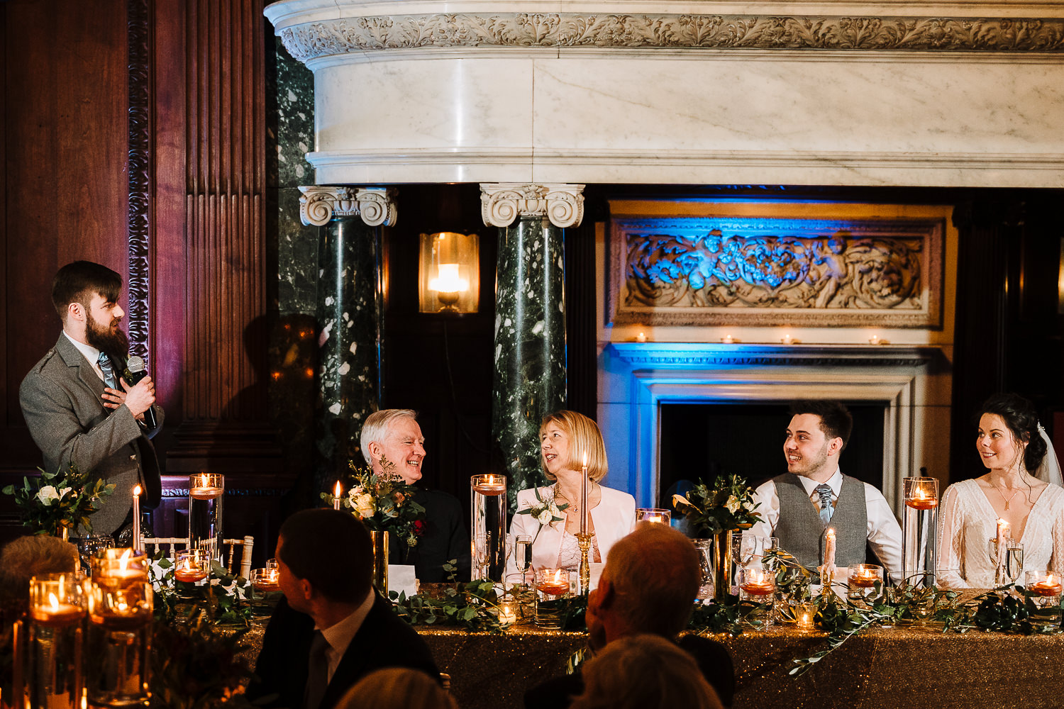 Best man speech at Thornton Manor