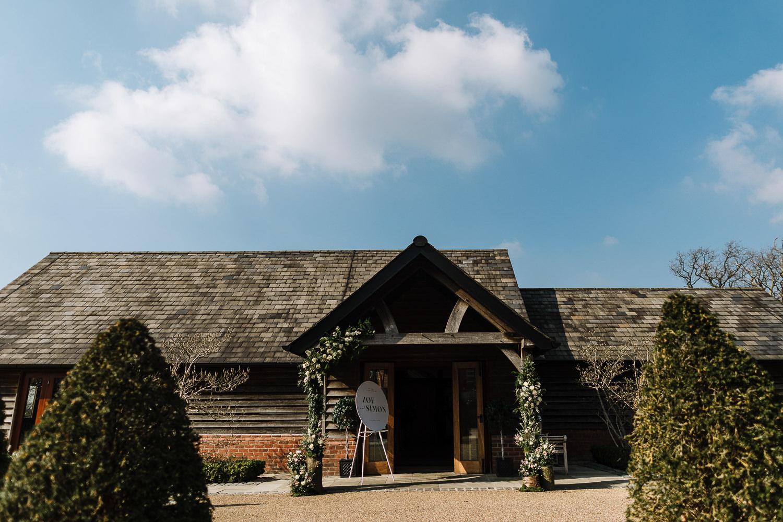 A photo of Sandhole Oak barn