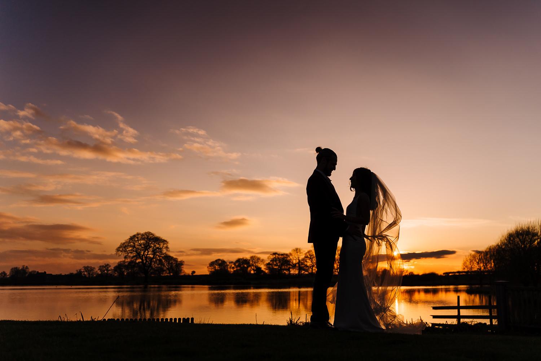 sun set photo at Sandhole Oak Barn