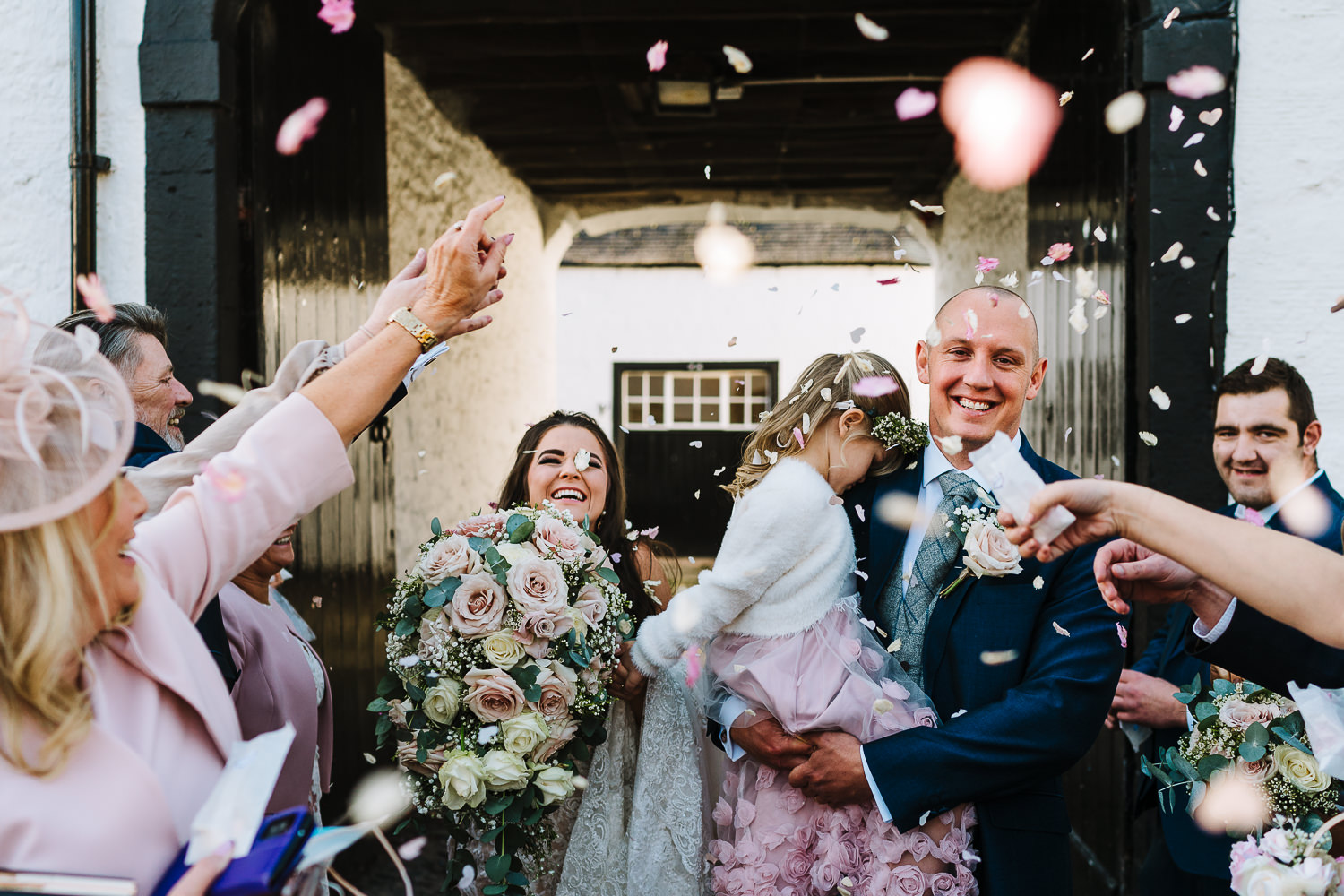Confetti shot at Gretna Green