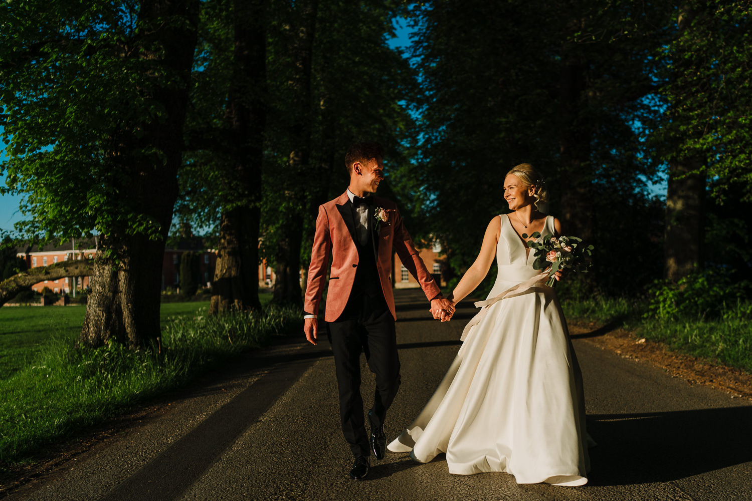 couples photos at Mottram Hall