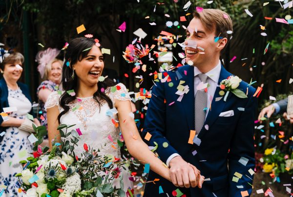 Confetti at the Old Parsonage