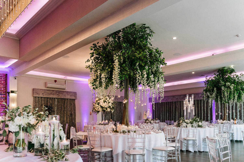 Wedding room at Merrydale Manor
