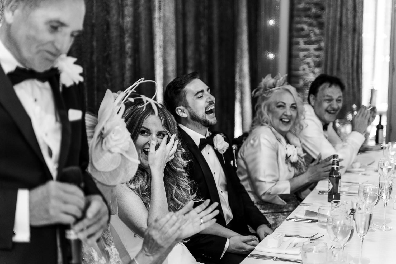 Wedding speeches at Merrydale Manor