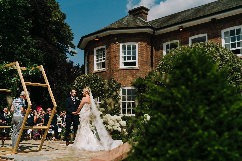 Wedding time at Delamere Manor
