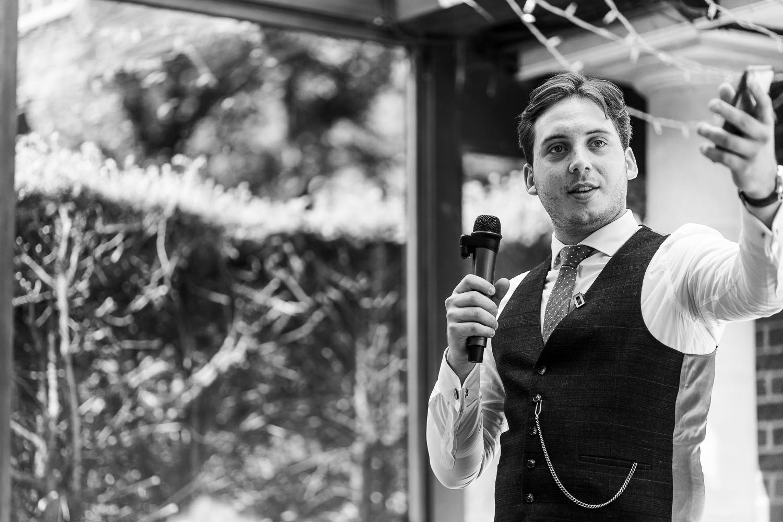 Best man speech at Delamere Manor