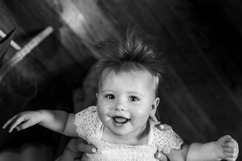 Baby at Samlesbury Hall